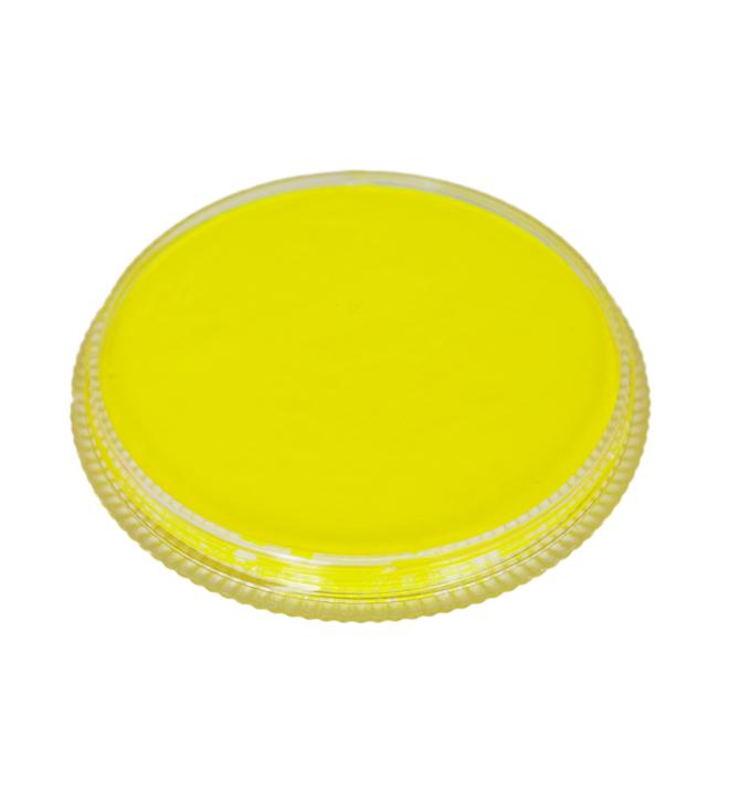 Cameleon fluo jaune toxic for Peinture jaune fluo