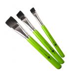 Flat brushes by Cameleon (various sizes)