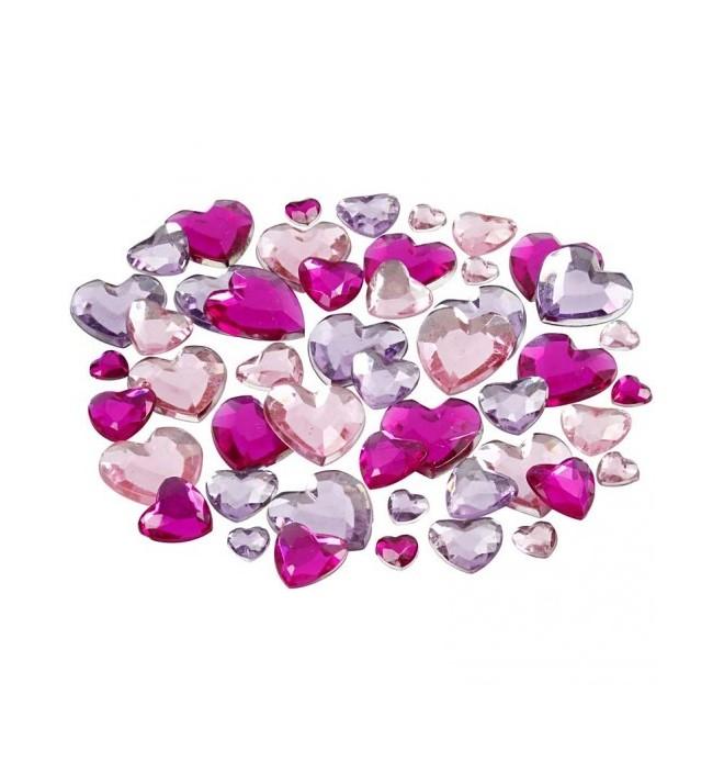Rhinestone bag pink heart for Rhinestone body tattoos