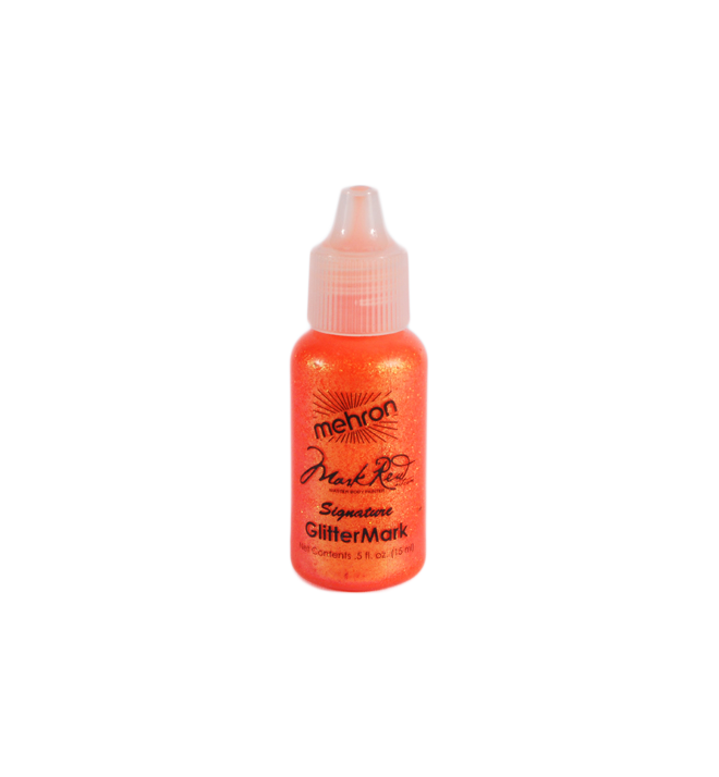 Glittermark Orange par Mehron