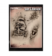 Ship & Anchor Tattoo Pro