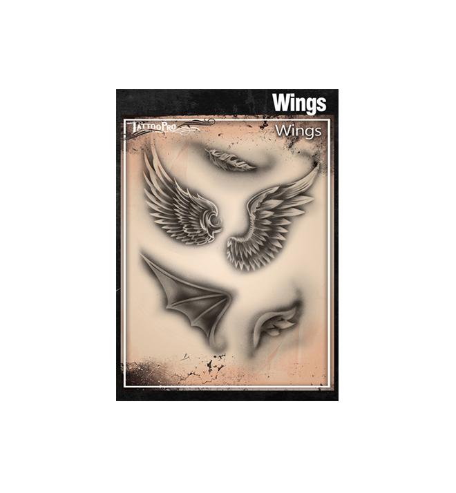 Wings Tattoo Pro