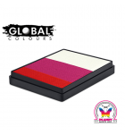 Rainbow cake Japan Global Colours