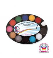 Starter Face Paint Palette 12 colours PartyXplosion