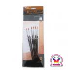 Set of 6 round brushes Loew Cornell