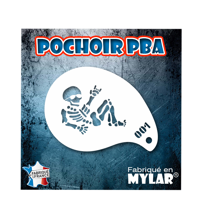 Pochoirs PBA Mini 001