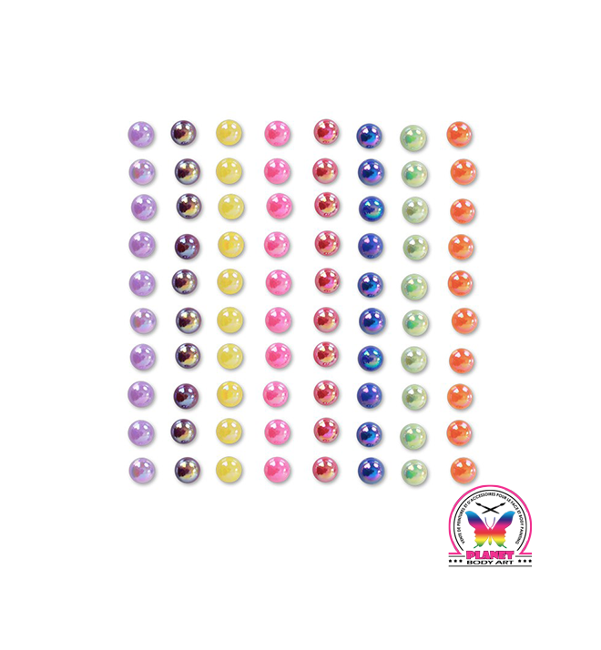 "Body jewel pearls Natural "" 6mm"""