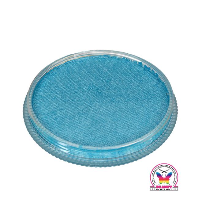Bleu Clair Métallique (Patrick's blue suede shoes) Cameleon