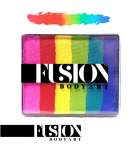 Bright Rainbow Fusion Body Art