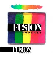 FX Neon Rainbow Fusion Body Art