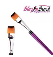 Flat brush 3/4 Blazin Brush