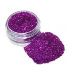 Purple cosmetic glitter