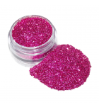 Pink cosmetic glitter